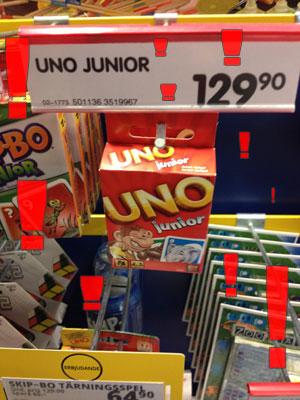 uno 129 kr